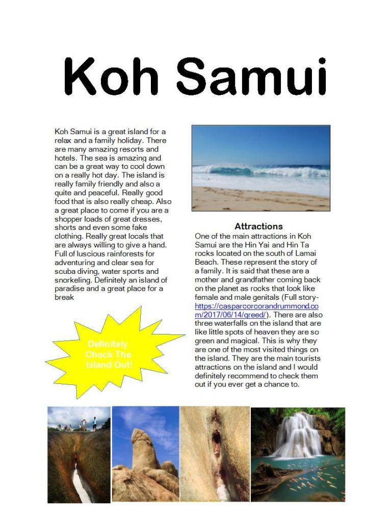 Koh Samui Poster