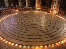 Chartres Cathedral Labyrinth